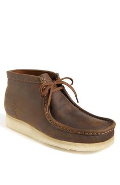 Clarks® England 'Wallabee' Boot (Online Only) available at #Nordstrom