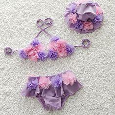 $18.25 (Buy here: https://alitems.com/g/1e8d114494ebda23ff8b16525dc3e8/?i=5&ulp=https%3A%2F%2Fwww.aliexpress.com%2Fitem%2F2016-new-children-swimsuit-swimsuit-swimsuit-girl-baby-baby-Bikini-with-waterproof-cap%2F32688596212.html ) Swimming Suit For Girls Baby Girl Swimwear Swimsuit Girls Kids Waterproof Cap Fato De Banho Children 2016 for just $18.25