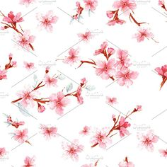 floral seamless pattern texture by risovalshik on @creativemarket