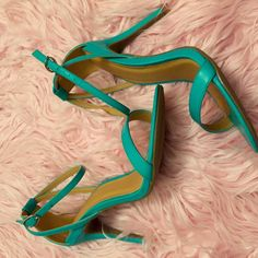 Nwot Strappy Sandals