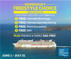 Norwegian Cruise Line. Contact Ambleagio Travel Agency at 412-896-6353 or email ambleagiotravel@gmail.com. www.ambleagiotravel.com