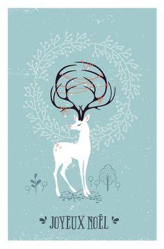 DIY - Une carte de vœux DIY à faire soi-même pour Noël + printable