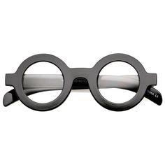 Bold Retro Thick Frame Clear Lens Glasses C074