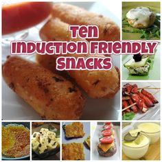 Ten Low Carb Induction Friendly Snack Recipes Shared on http://www.facebook.com/LowCarbZen/
