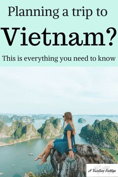 Planning a trip to Vietnam? This is everything you need to know / Vietnam travel tips and inspiration for your next trip to Vietnam / Halong Bay / Ninh Binh / Sapa Vietnam / Things to do in Vietnam / Planning a trip to Vietnam / Food in Vietnam / Vietnam Cool Places To Visit, Places To Travel, Travel Destinations, Travel Tips, Travel Essentials, Vietnam Travel Guide, Asia Travel, Trip To Vietnam, Vietnam Vacation