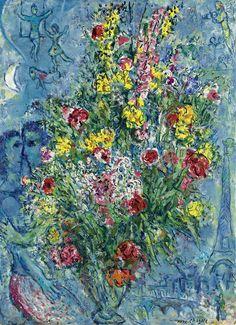Bouquet de Printemps, Marc Chagall - fondation Fortabat, Buenos Aires