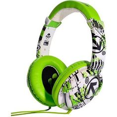 Idance #ibiza dj over ear #headphone - #green/white/black,  View more on the LINK: http://www.zeppy.io/product/gb/2/171934016789/