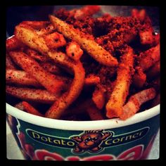 """@attchit: Super chili barbecue! #PotatoCorner #fries @ Ayala Center Cebu"" 