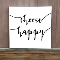 Choose Happy Canvas Colors Customizable by LittleDoodleDesign