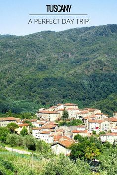 Tuscany day trip - Italy tour - discover the northern Tuscan countryside with it's rugged hills, flowing rivers and pretty towns and villages. An easy Pisa day trip and very close to Lucca
