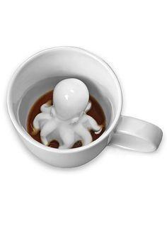 Sneaky Octopus Mug at ShopPlasticland.com