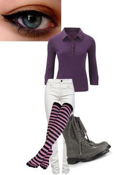 """""""Purple"""" by thegirlyouknow ❤ liked on Polyvore"""