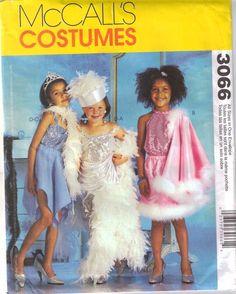 Girls Dress Up Costume Pattern  Size 3  8  by PrettyfulPatterns