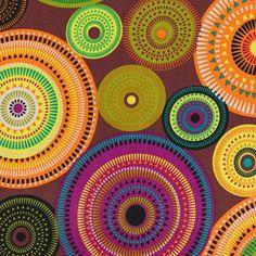 PlushAddict - Michael Miller fabric Forest Aurora Borealis
