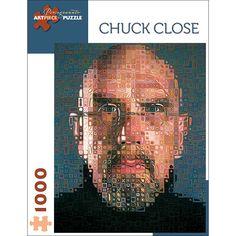 Pomegranate Communications, Inc. Chuck Close - Self Portrait Puzzle: 1000 Pcs