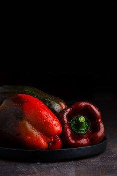 Pimientos rojos by Raquel Carmona