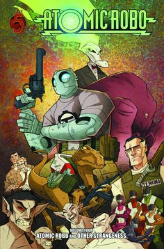 ATOMIC ROBO TP VOL 04 OTHER STRANGENESS
