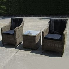 Relax in the open air with the Liverpool 3 Piece Poolside Set from Sunlong. Outdoor Furniture Sets, Outdoor Decor, Outdoor Settings, Liverpool, 3 Piece, Relax, Australia, Home Decor, Decoration Home