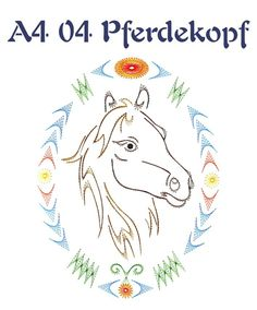 Motive width ca. Embroidery Flowers Pattern, Paper Embroidery, Flower Patterns, Sewing Patterns, Paper Animals, Horse Love, Cute Crafts, String Art, Hand Stitching