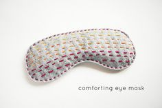 Comforting Eye Mask by wildolive, via Flickr