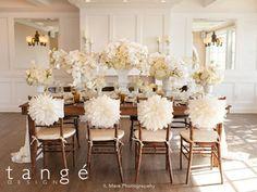 Flower chair cover for chiavari chair. Peony flower/ mum flower/ silk flower and dandelion flower/ Ivory chair cover/ wedding chair flower Custom