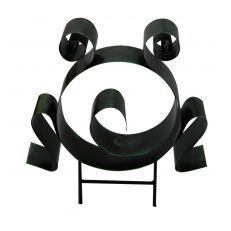 AMBHome Features: x x Made of Metal Unique Frog design Easily Insertable Description: The simple, yet elegant design of these garden stakes makes them a perfect addition to and type of outdoor or indoor decor. Tabletop Fountain, Frog Design, Garden Stakes, Woodland, Sculptures, Statue, Metal, Outdoor Decor, Home Decor