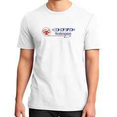Dovo Logo District T-Shirt (on man)