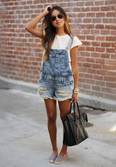 Denim Shorts Style For Summer