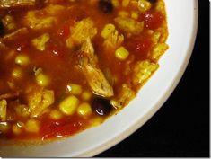 Chicken Tortilla Crock Pot Soup