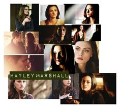 """""""Hayley Marshall • The Originals"""" by pollyesmeyates ❤ liked on Polyvore featuring art"""