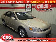 Used-2009-Chevrolet-Impala-LT w/3.5L