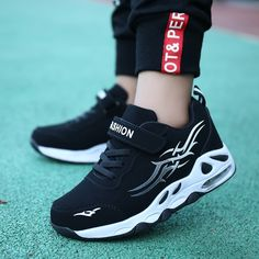 Light Breathable Sport Running School Trainers Shoes For Kids Cheap Sneakers, Cute Sneakers, Girls Sneakers, Running Sneakers, Air Max Sneakers, Sneakers Nike, Sneakers Style, Aliexpress, Types Of Shoes
