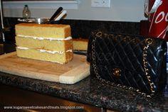 Sugar Sweet Cakes and Treats: Chanel Classic Handbag Cake