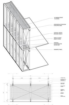 Image result for double skin glass facade detail