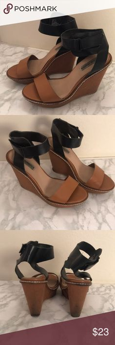 1f09a4b1e3db8 Spotted while shopping on Poshmark  Steve Madden wedges!  poshmark  fashion   shopping
