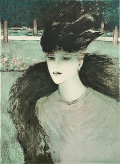 Jean Pierre Cassigneul - L'Oiseau, 1984