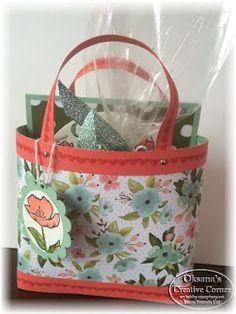 Oksana's Creative Corner: Last minute Gift Card Idea and Bag in a Box Tutorial