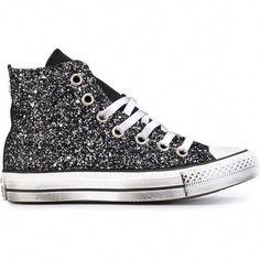 3da880299a #GlitterShoes Cheap Converse Shoes, Cute Converse, Converse Sneakers,  Converse All Star,