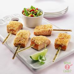 Macadamia Crusted Salmon