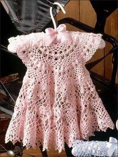 Roupas de crochet para crianças. by hannahmnt