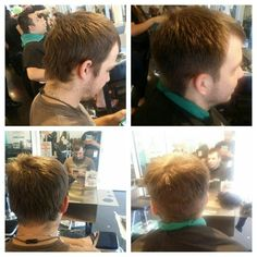 My first men's cut on a guest.