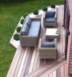 Ideas For Front Patio Garden Decks Pergola Patio, Diy Patio, Backyard Patio, Small Pergola, Modern Pergola, Patio Chairs, Backyard Ideas, Patio Steps, Diy Terrasse