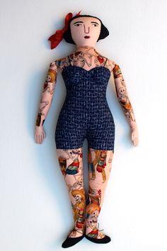 Tattooed Lady - Mimi Kirchner