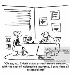 Nurse Practitioner Cartoon  Nice right? All kidding aside... GHMS helps doctors start successful home health agencies. Have a look at the Glymph Healthcare Marketing Services site: famhc.com asap!