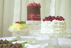 alternative dessert table - Cake by Edible Art by Sawsen