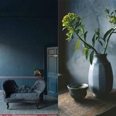 Moody blue walls 7 Color trend | Moody blue walls