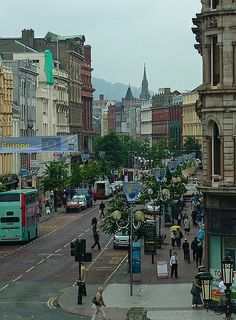 Belfast, Northern Ireland One of the strangest cities culturally I've ever been to