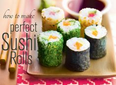 how to make sushi in minutes with Tupperware sushi maker via Tupperware uk