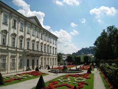 Mirabell Garten Salzburg. Would love to go back!