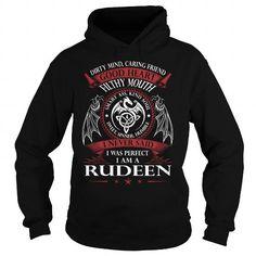 RUDEEN Good Heart - Last Name, Surname TShirts
